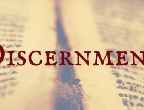 Disappearing Discernment
